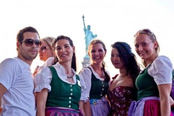 Austria. Dirndl Temptation. Dare to flirt back.
