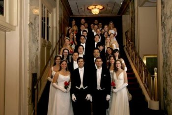 Debutantes at the 54th Annual Viennese Opera Ball in New York